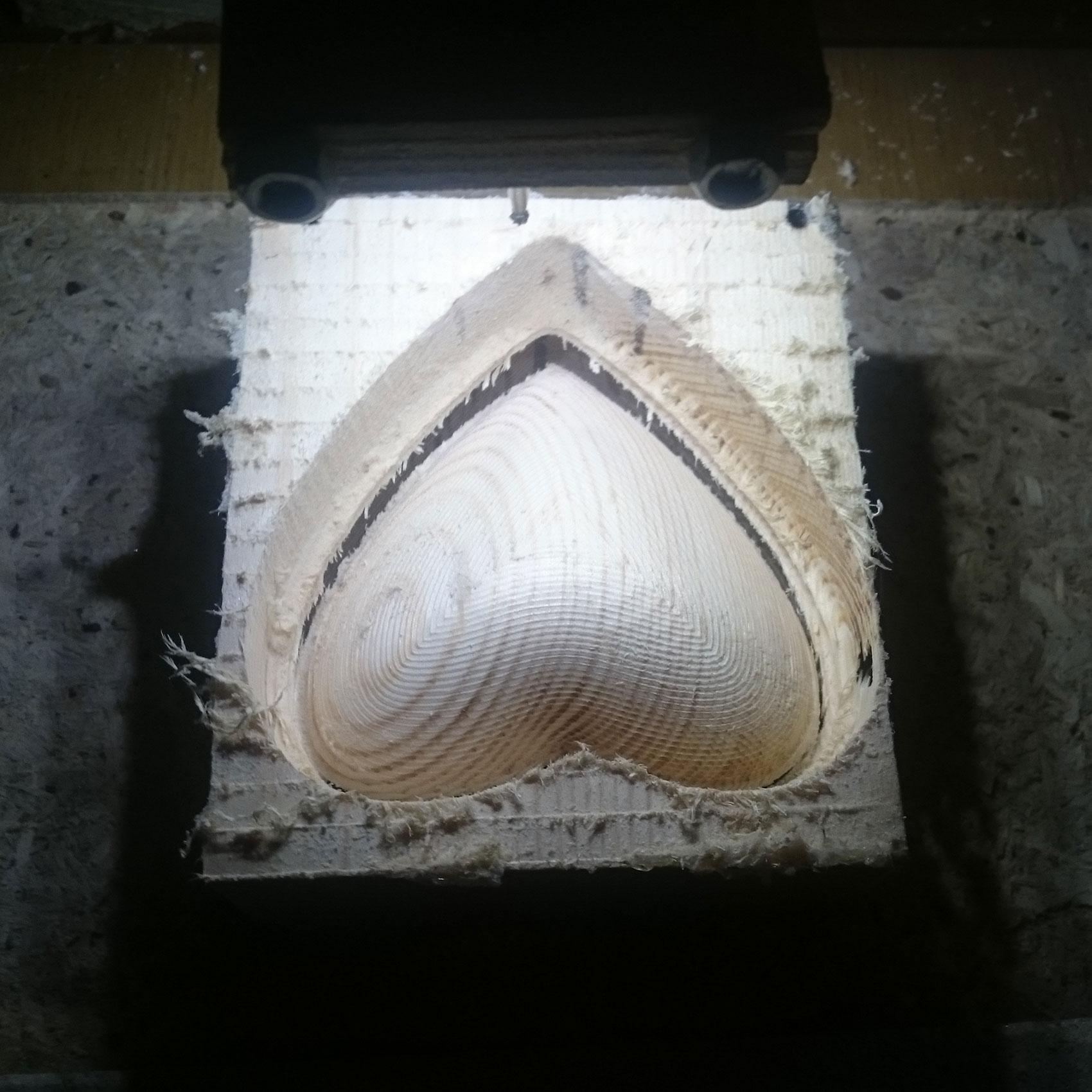Фрезерование дерева чистовое