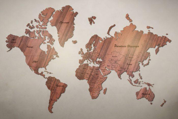 Рендер карты мира из тайгервуда